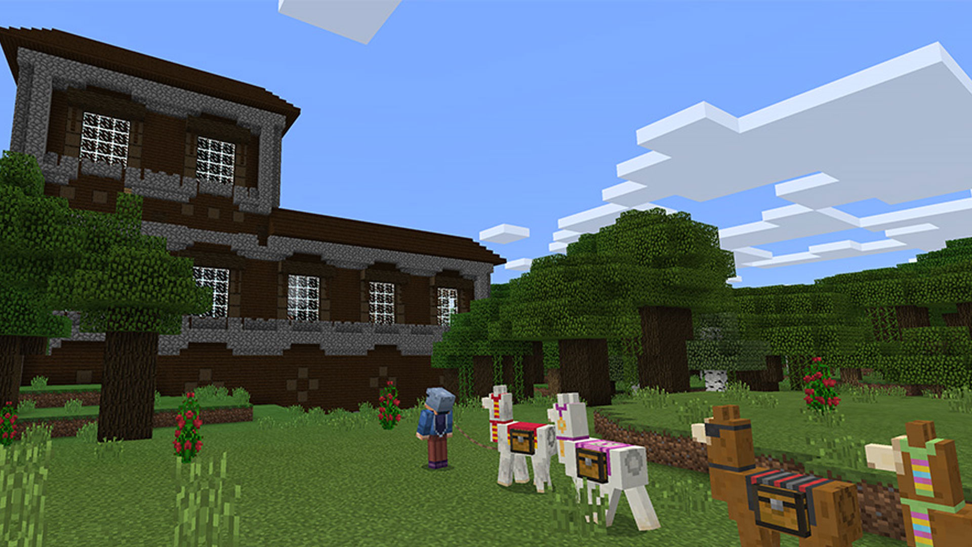 Minecraft Pocket Edition 1.1 Discovery Update Llamas