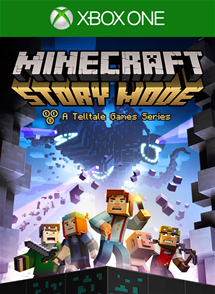 Minecraft Story Mode Xbox One Box Art