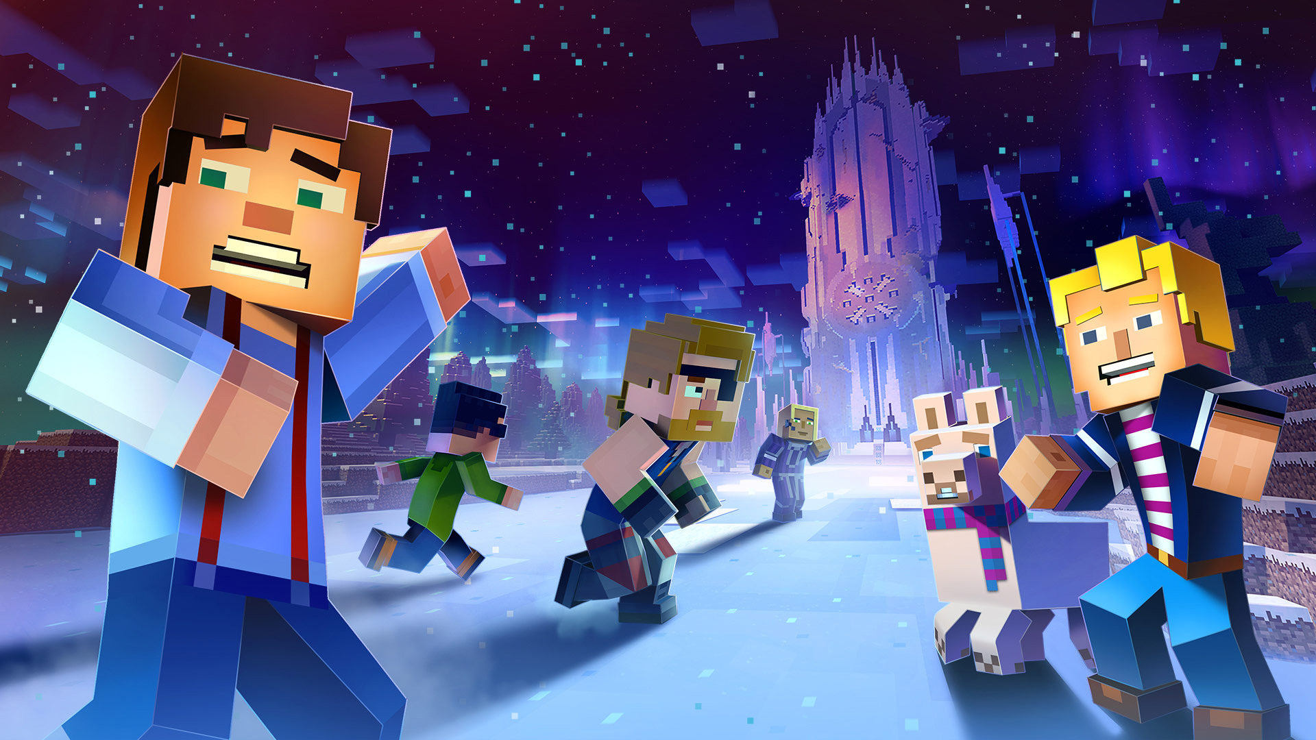 Minecraft story mode season 2 episode 2 giant consequences review gamerheadquarters - Minecraft story mode wallpaper ...