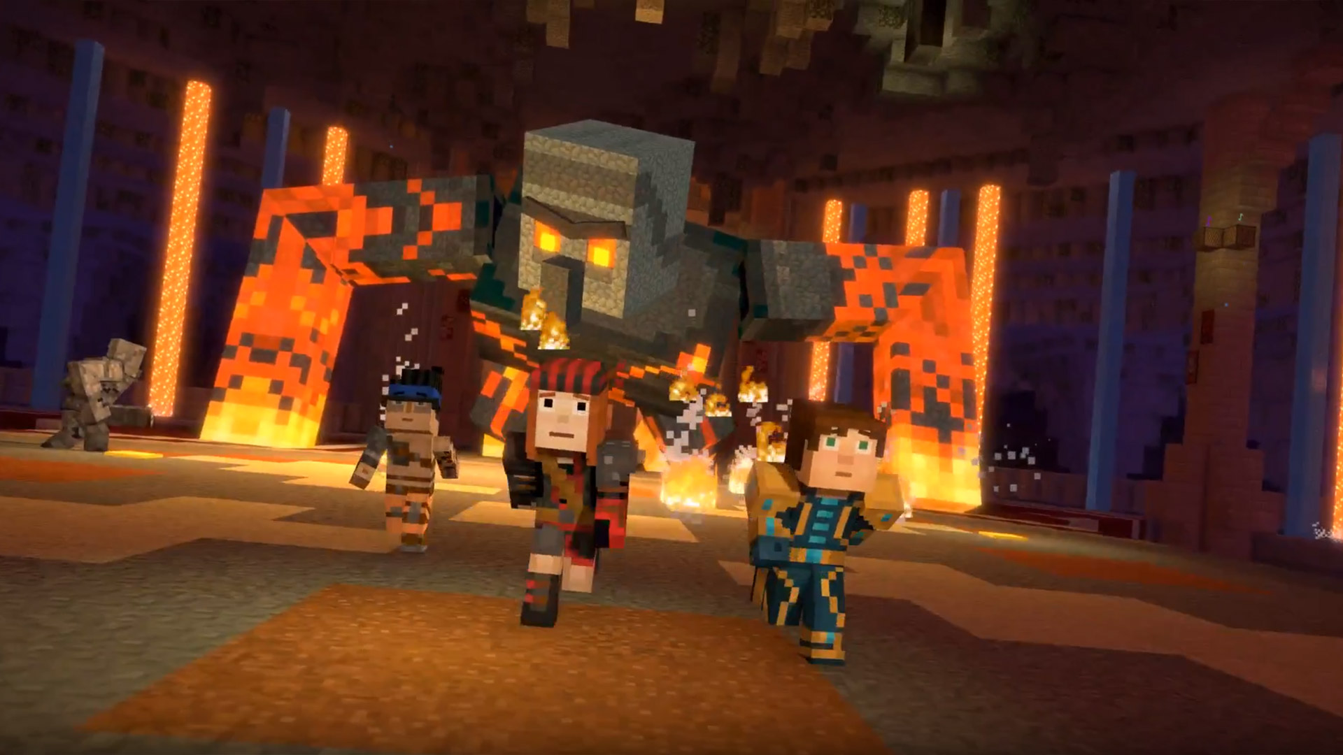 Minecraft Story Mode Season 2 Episode 4 Below The Bedrock Review