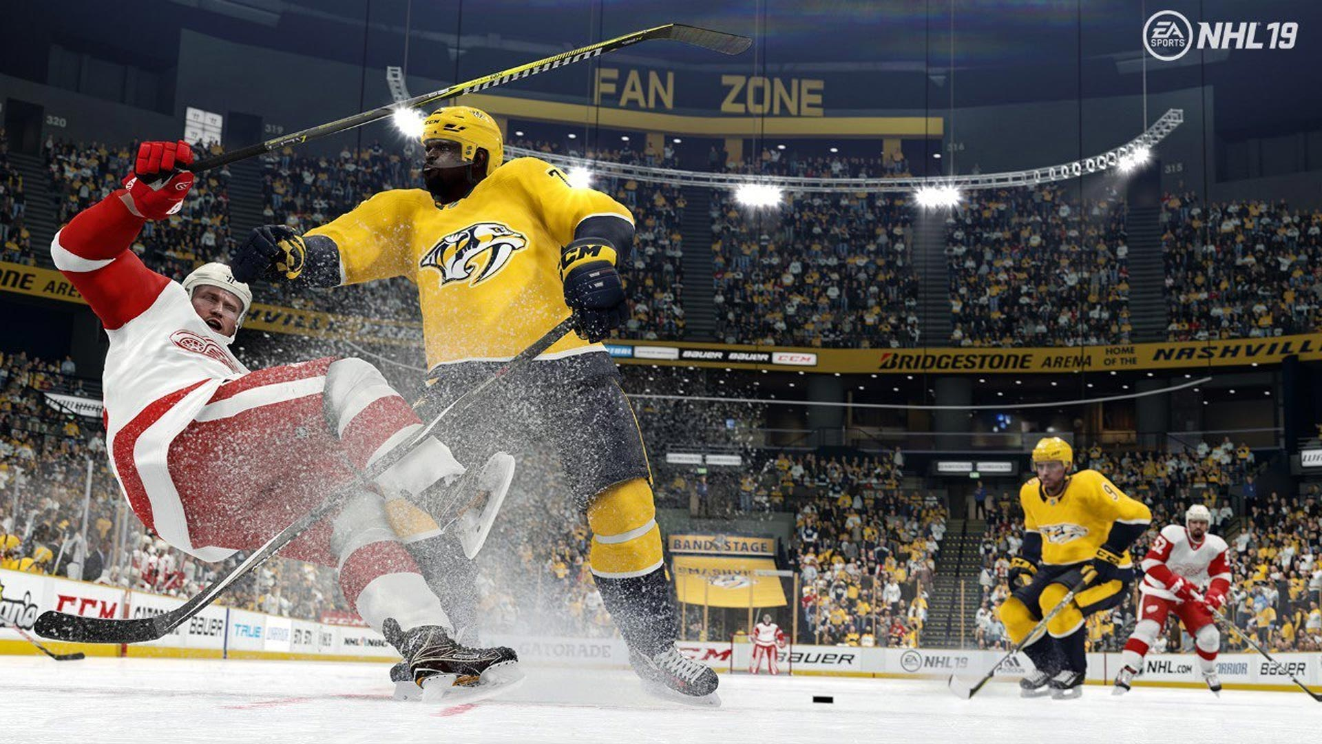 NHL 19 Pass Screenshot