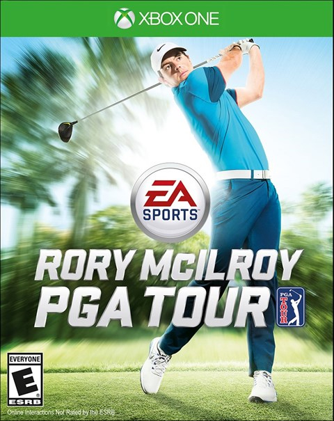 Rory Mcilroy PGA Tour Xbox One Box Art