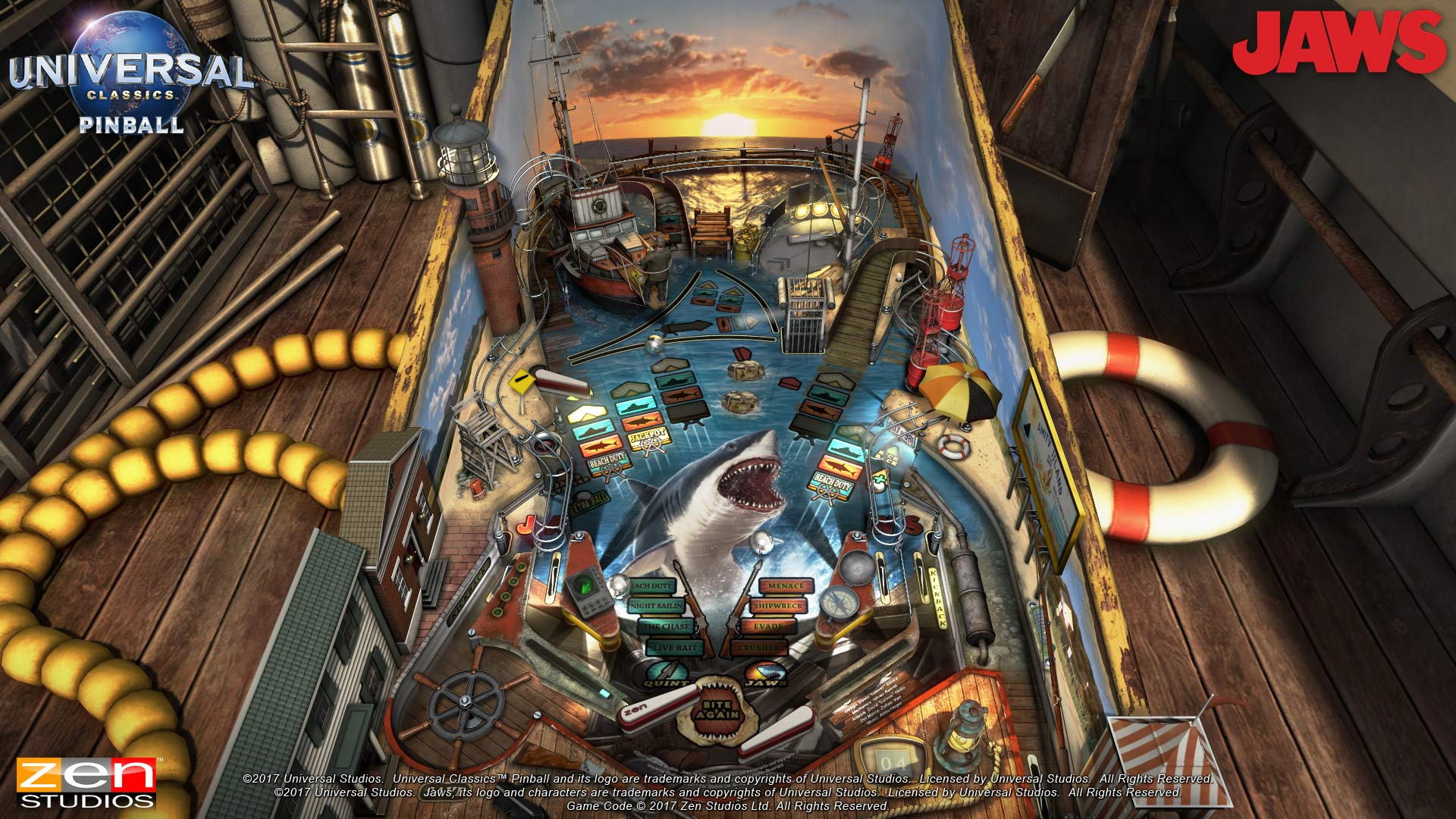 Pinball FX3 Xbox Wallpaper Screenshot Jaws