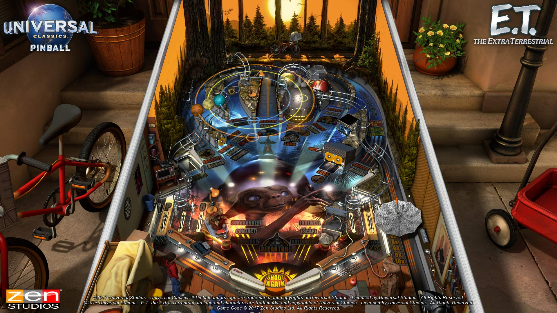 Pinball FX3 Xbox Wallpaper Screenshot ET