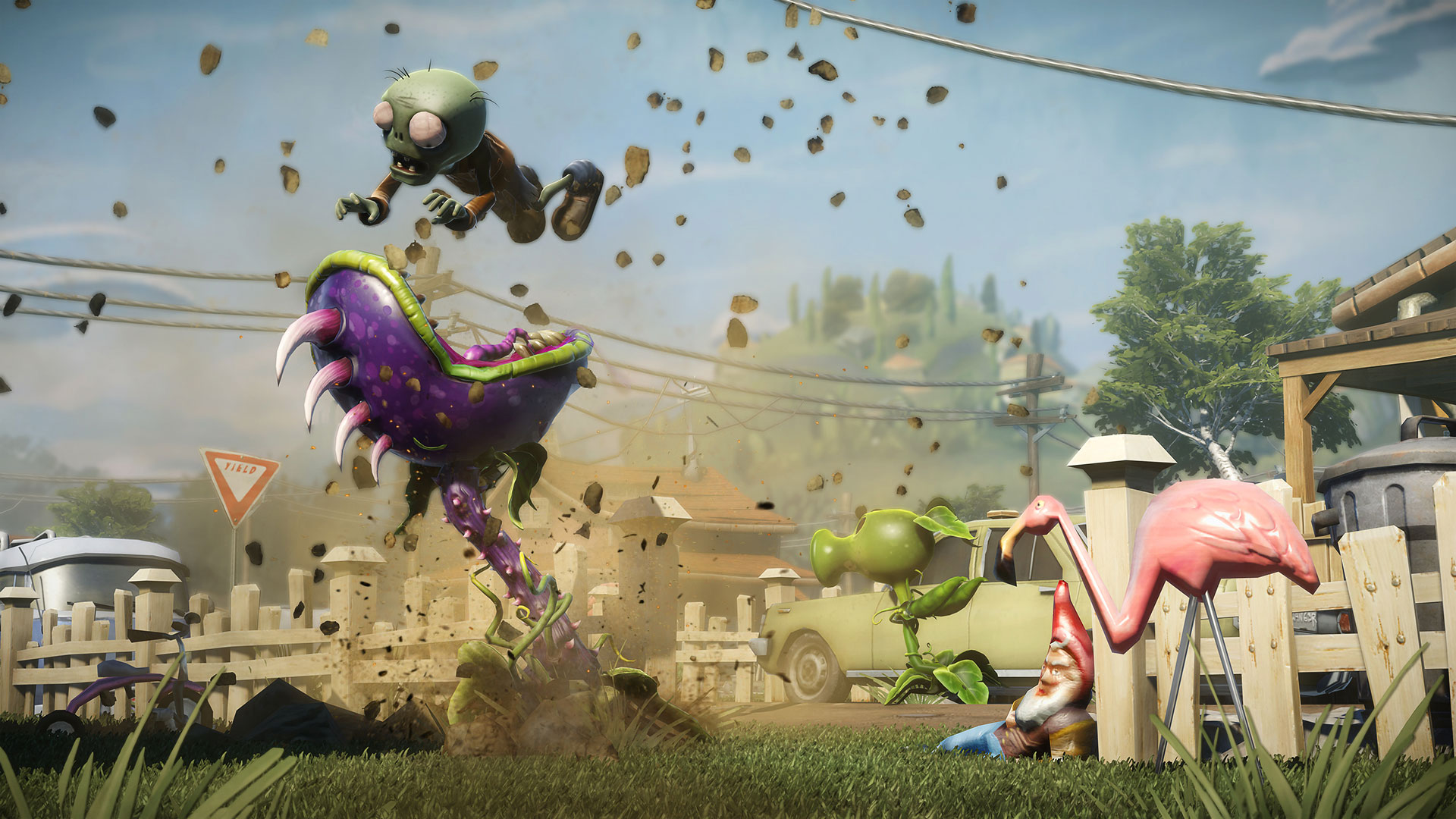 Plants vs Zombies Garden Warfare Review Xbox Wallpaper Screenshot