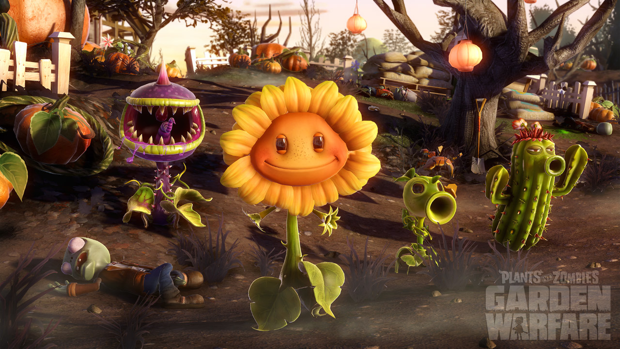 Plants vs Zombies Garden Warfare squad