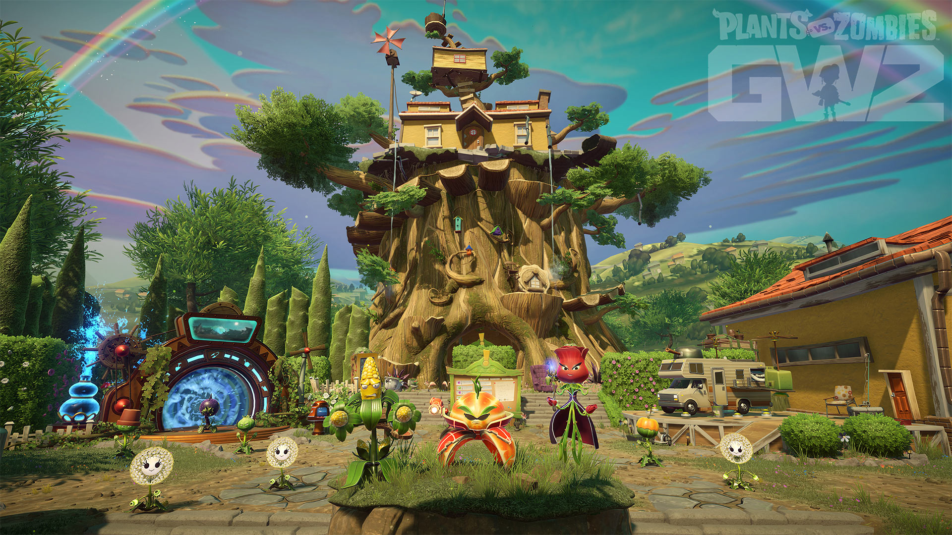 Plants vs Zombies E3 2018 Screenshot