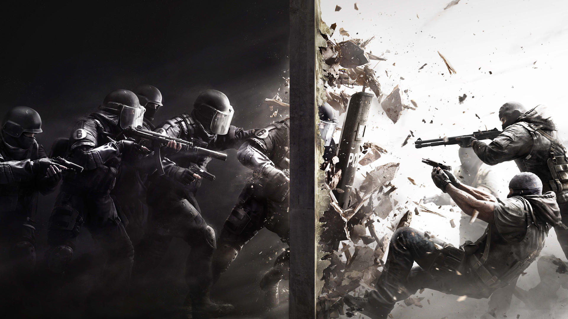Rainbow Six Siege Cover Screenshot