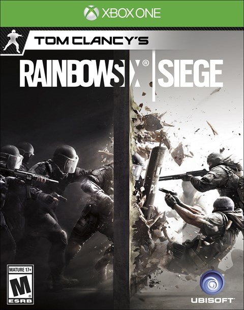 Rainbow Six: Siege Xbox One Box Art
