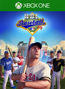 RBI Baseball 2014 Xbox One Box Art
