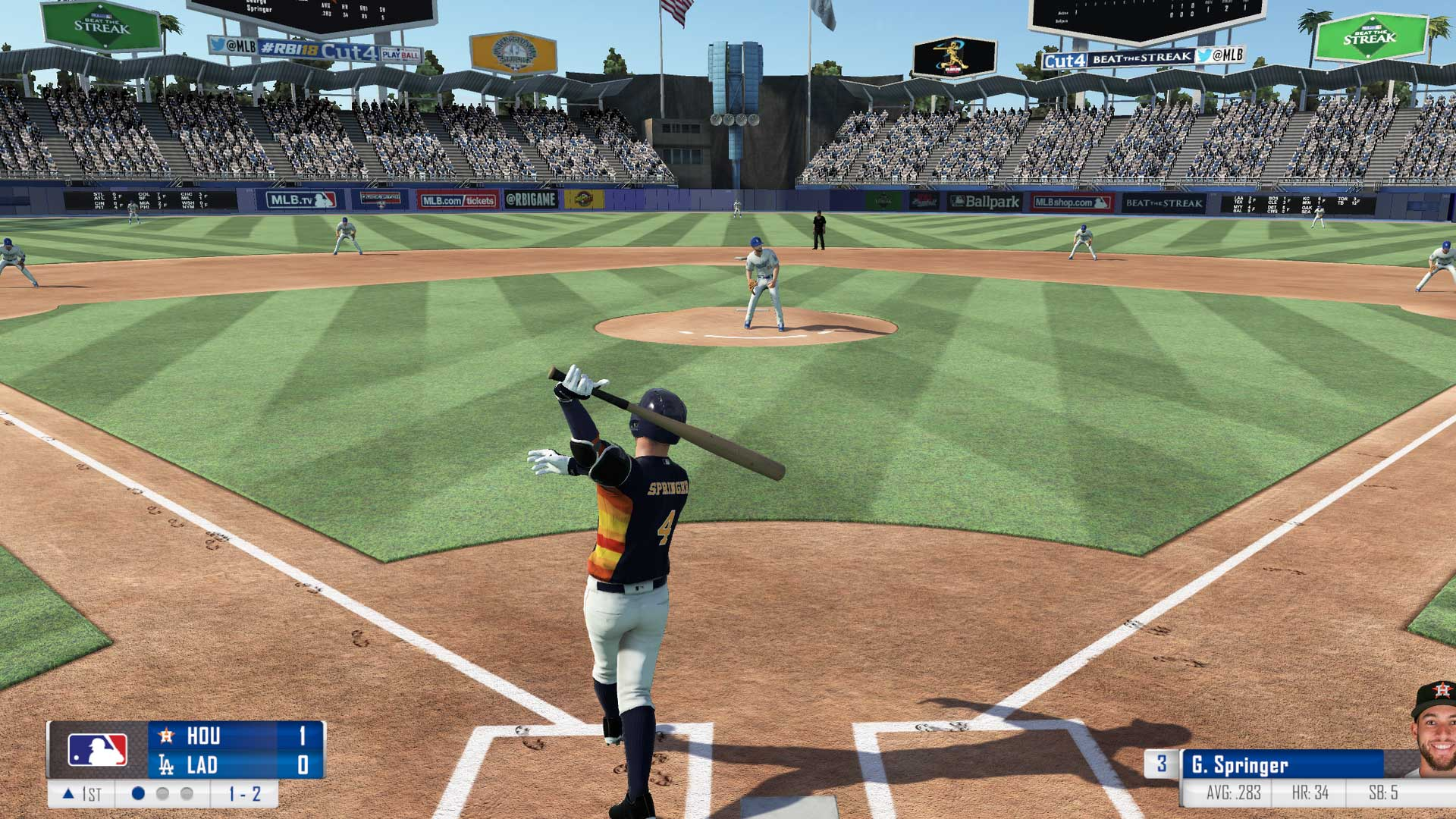 RBI Baseball 18 Xbox Screenshot