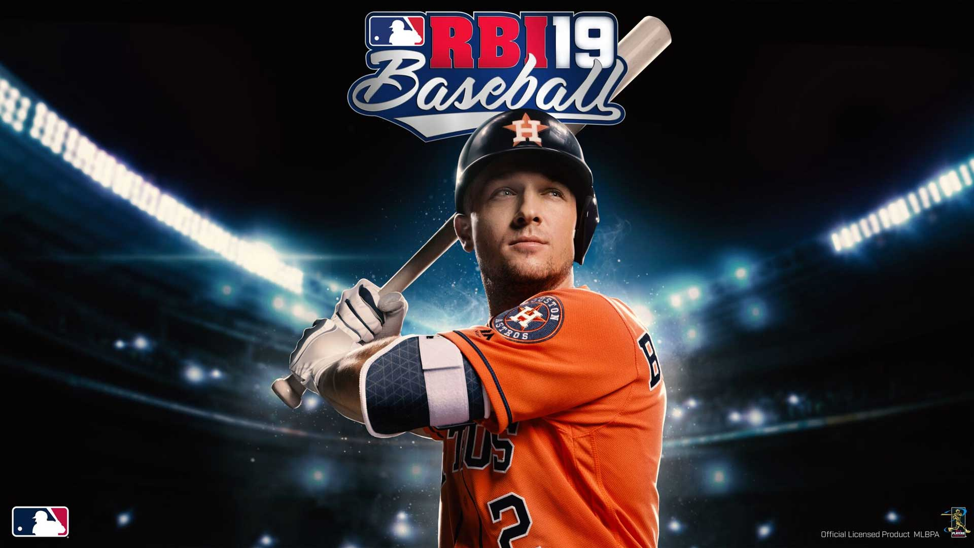 RBI Baseball 19 cover athlete