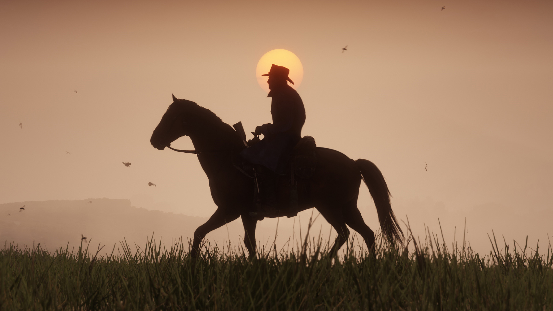 Red Dead Redemption 2 Horse Screenshot