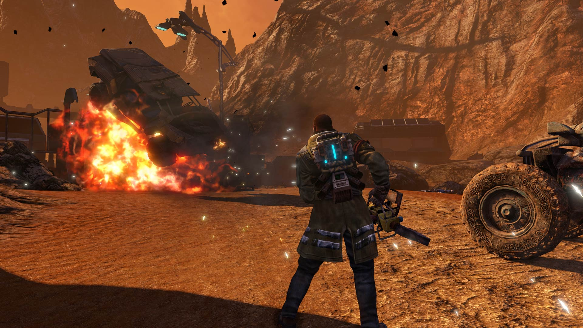 Red Faction Guerrilla Remastered Review Xbox Wallpaper Screenshot
