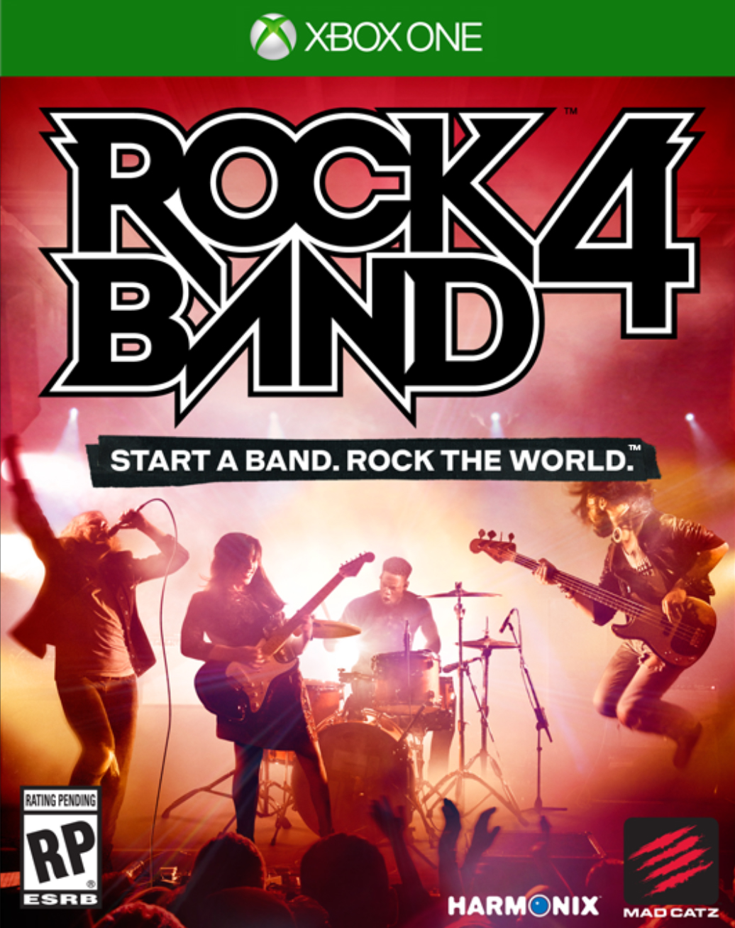 Rock Band 4 Rivals Xbox One Box Art