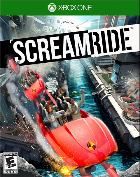 Screamride Xbox One Box Art