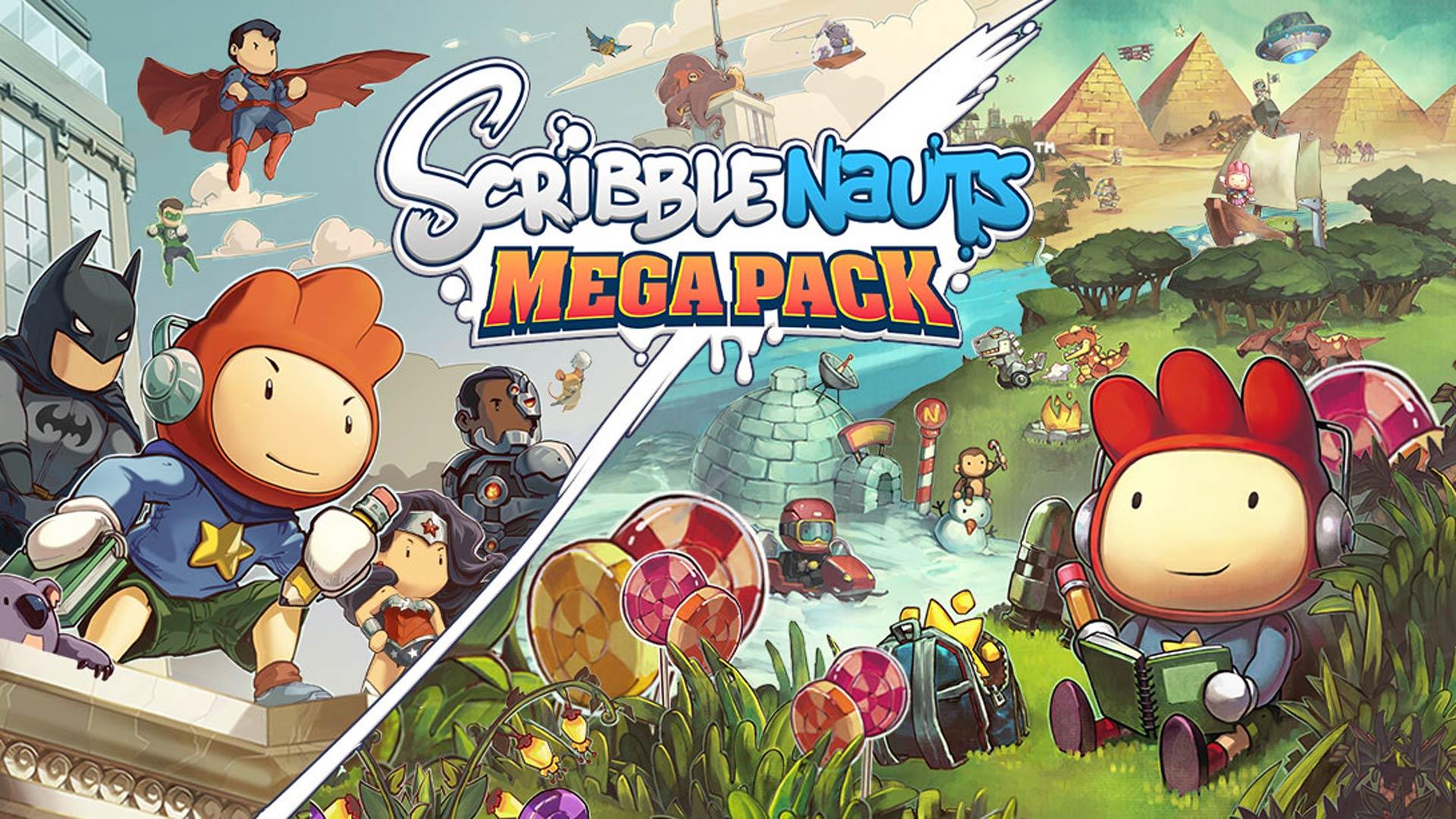 Scribblenauts Mega Pack Cover Screenshot