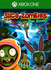 Slice Zombies for Kinect Xbox One Box Art