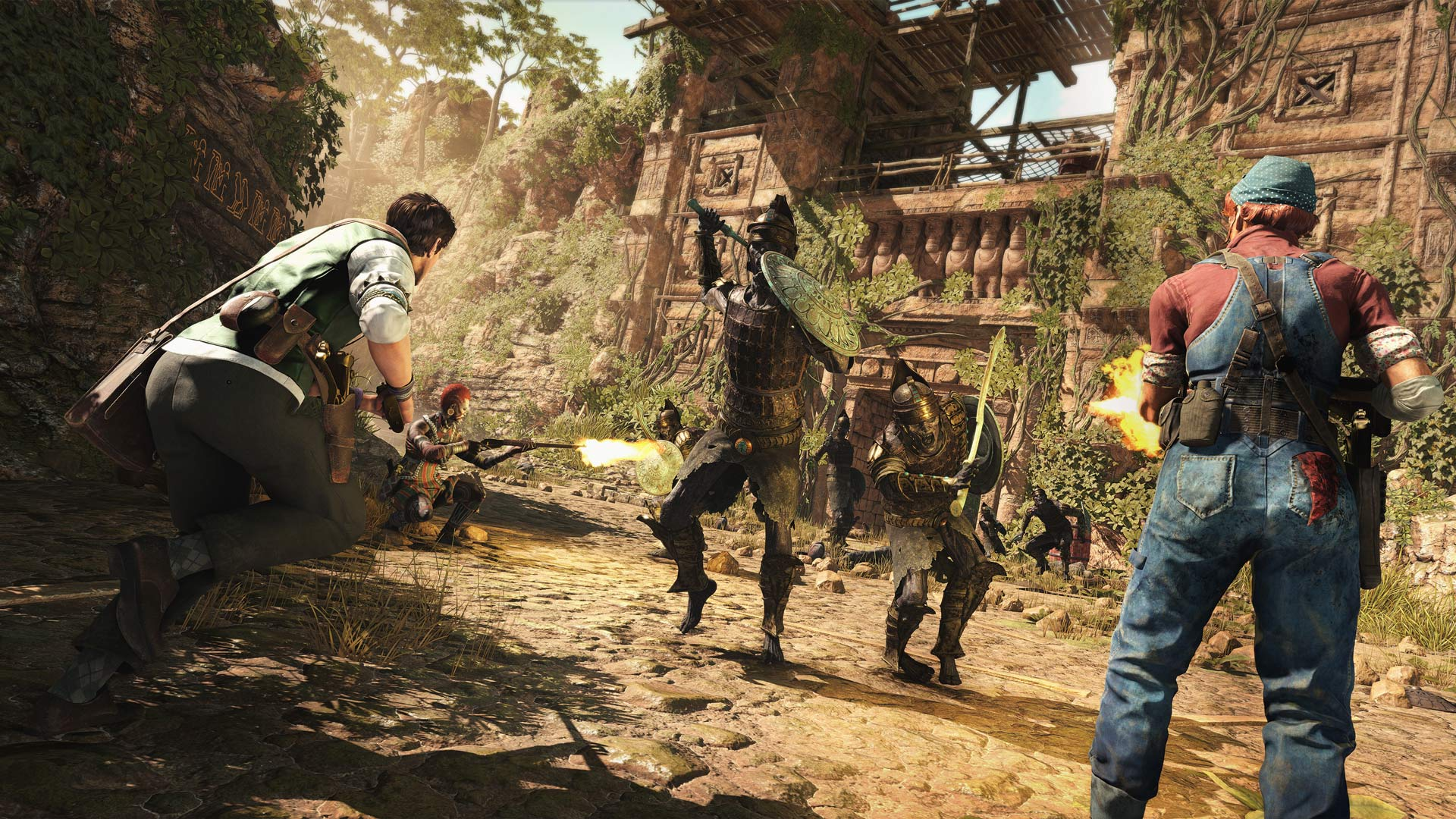 Strange Brigade Xbox One Screenshot