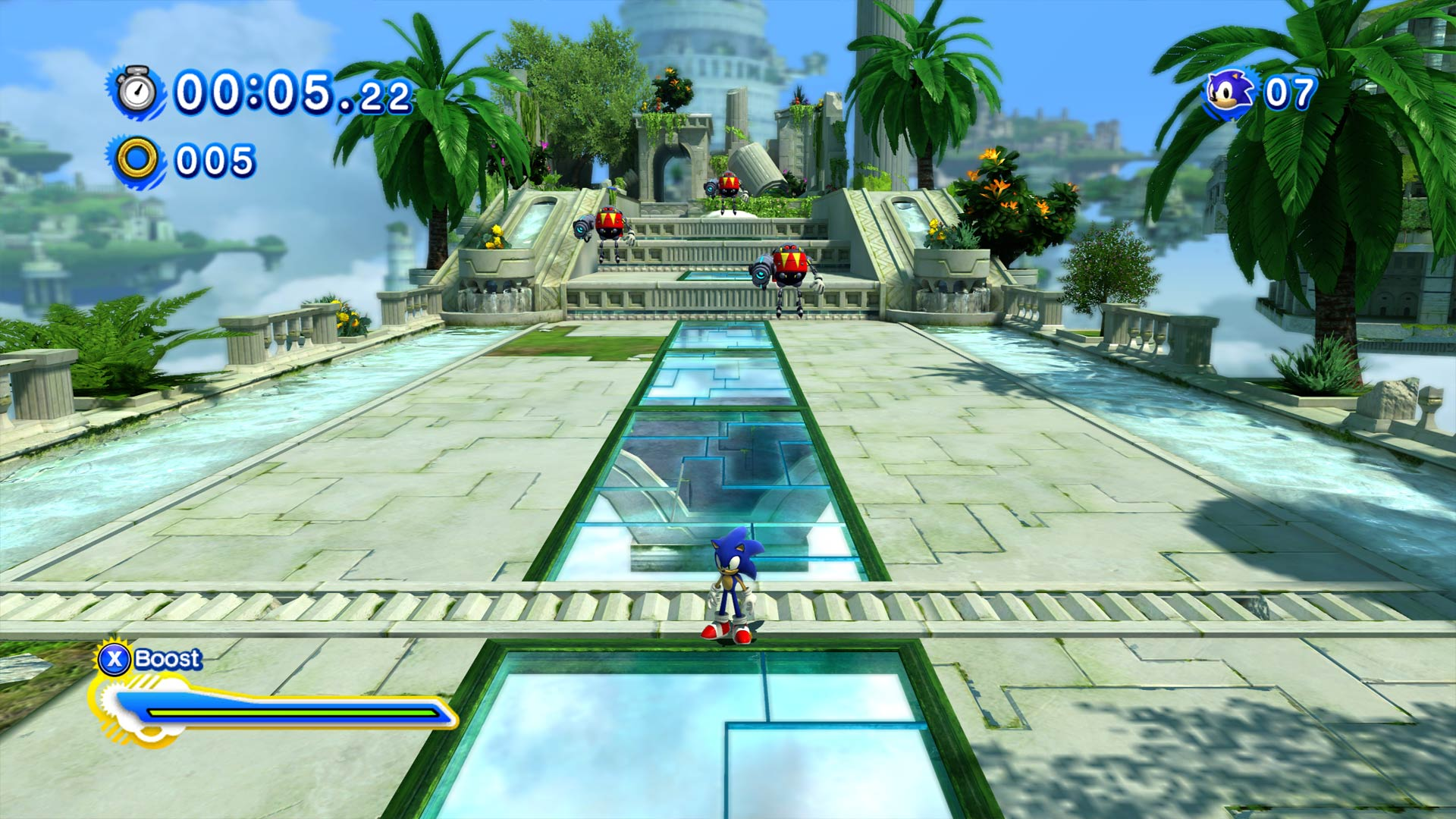 Sonic Generations Xbox One X Enhanced Screenshot