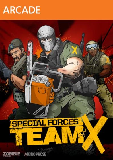 Special Forces X Box Art