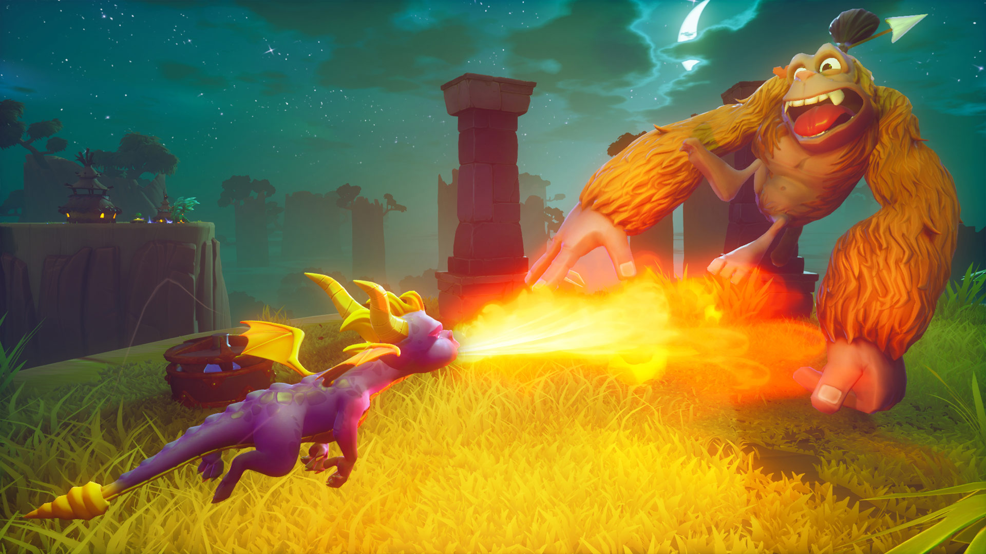 Spyro Reignited Trilogy Battle Screenshot