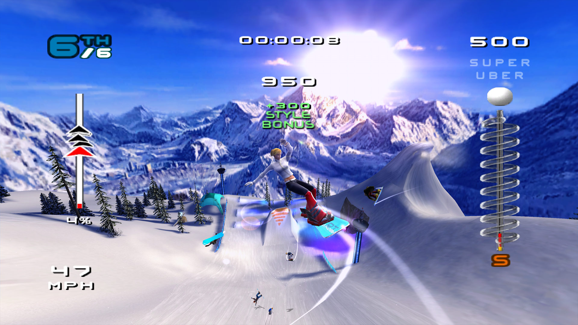 SSX 3 Xbox One X: One Year Later Screenshot
