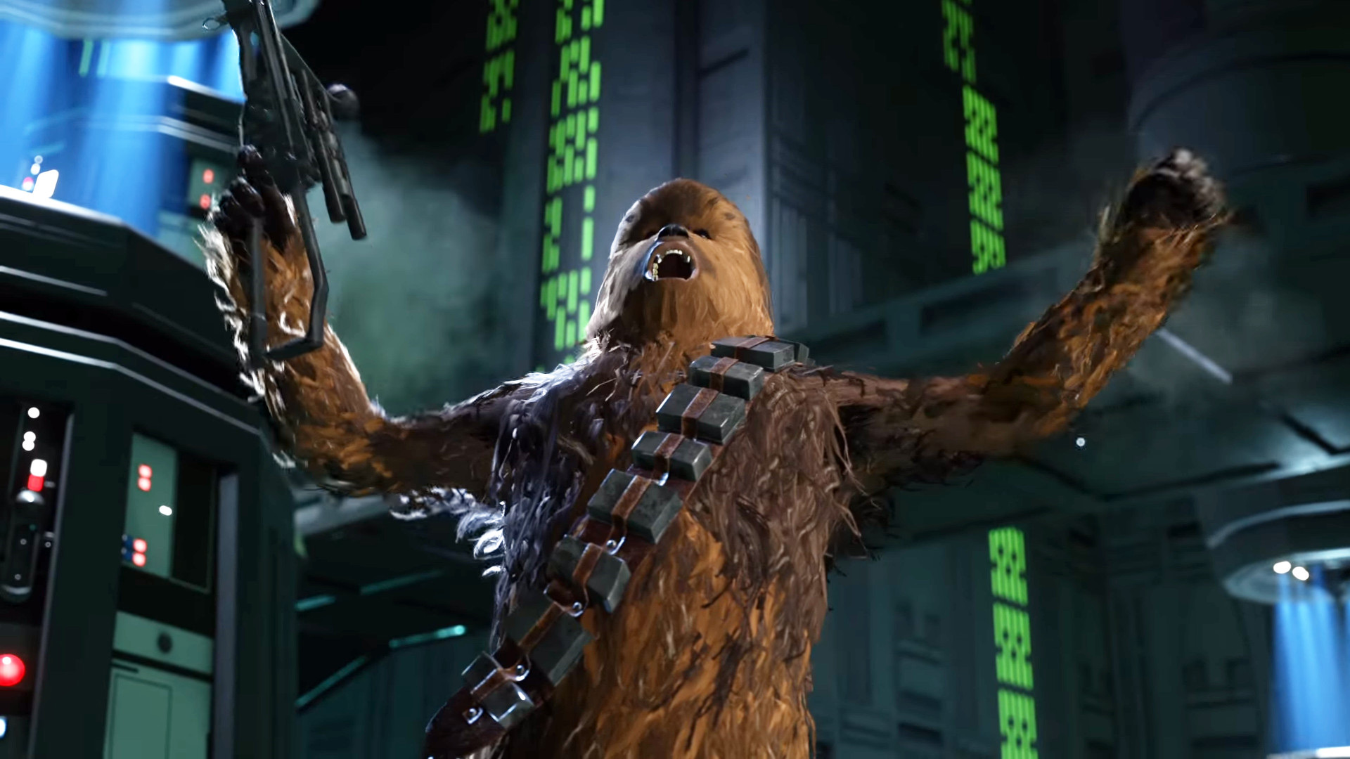 Star Wars Battlefront Chewbacca Roar