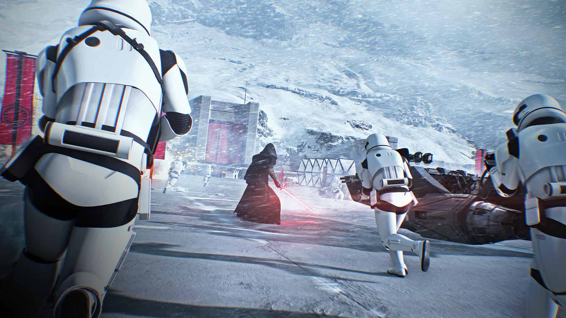 Star Wars Battlefront 2 Kylo Ren Screenshot