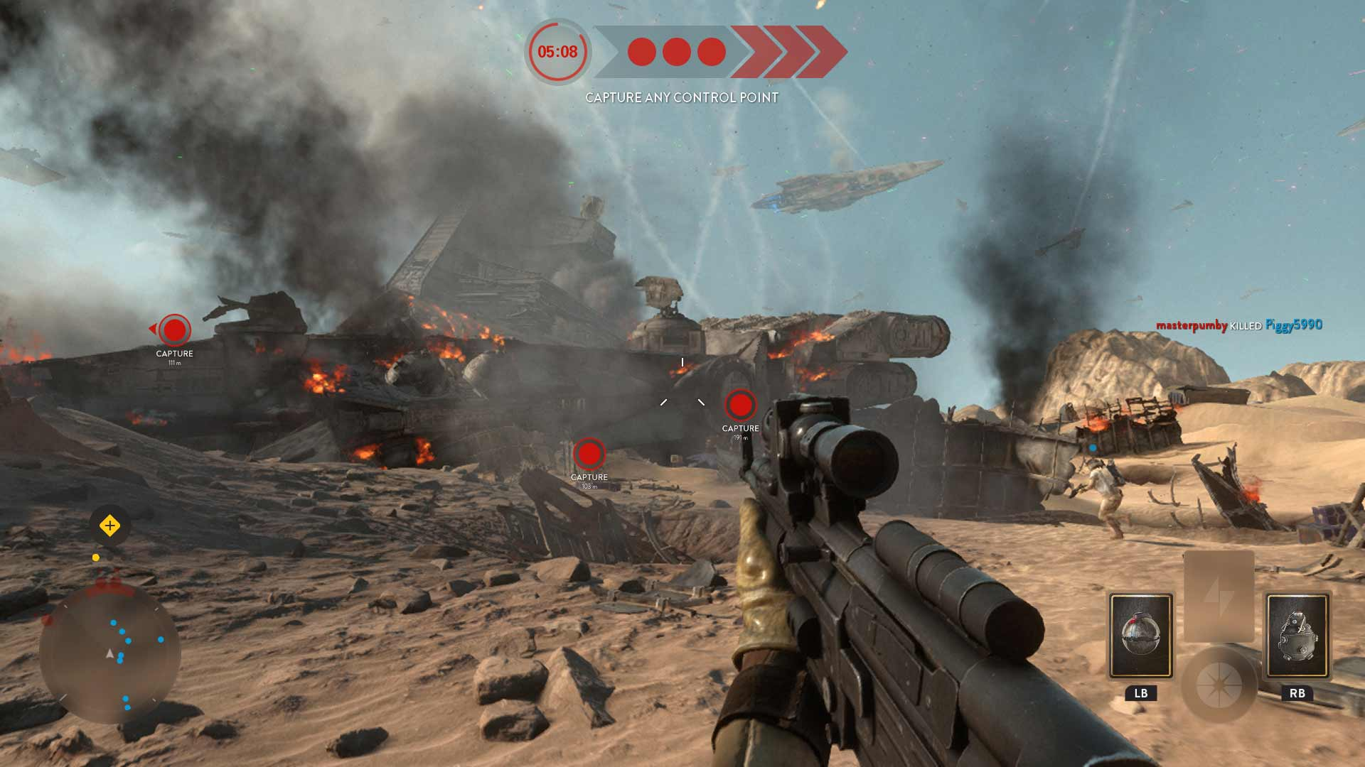 Star Wars Battlefront Battle Of Jakku Impressions Gamerheadquarters