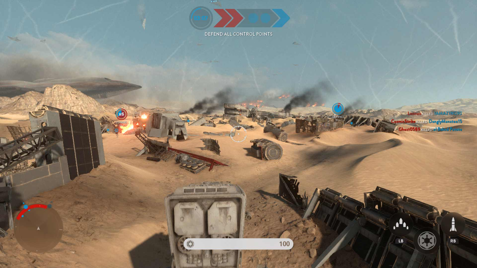Star Wars Battlefront: Battle of Jakku Screenshot