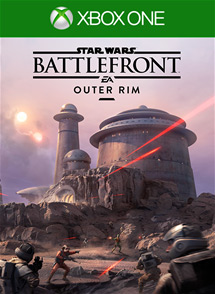 Star Wars Battlefront: Outer Rim Box Art
