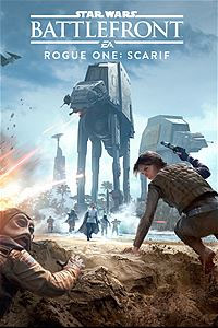 Star Wars Battlefront: Rogue One Scarif Box Art