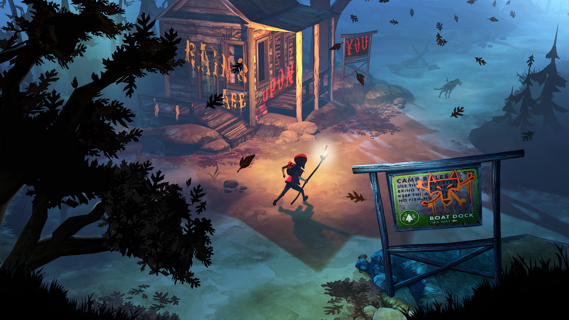 The Flame in the Flood Game Screenshot