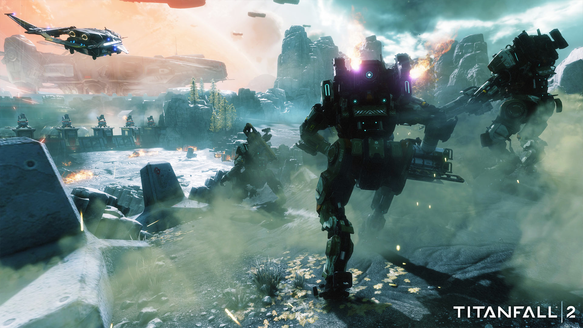 Titanfall 2 Xbox One X Enhanced Screenshot