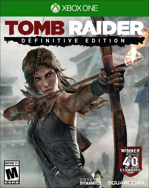 Tomb Raider Definitiv Box Art