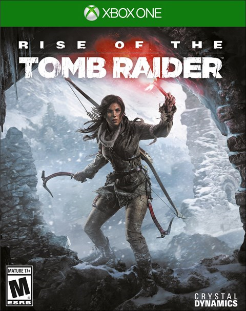 Rise of the Tomb Raider Xbox One Box Art