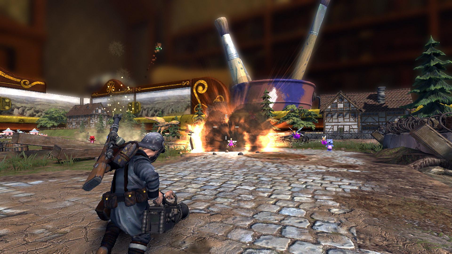 Toy Soldiers War Chest Xbox Screenshot