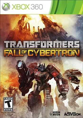Transformers Fall of Cybertron Box Art