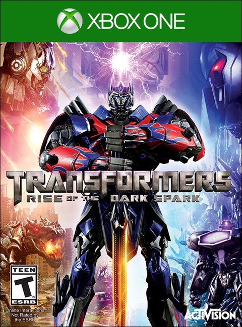 Transformers Rise of the Dark Spark Box Art