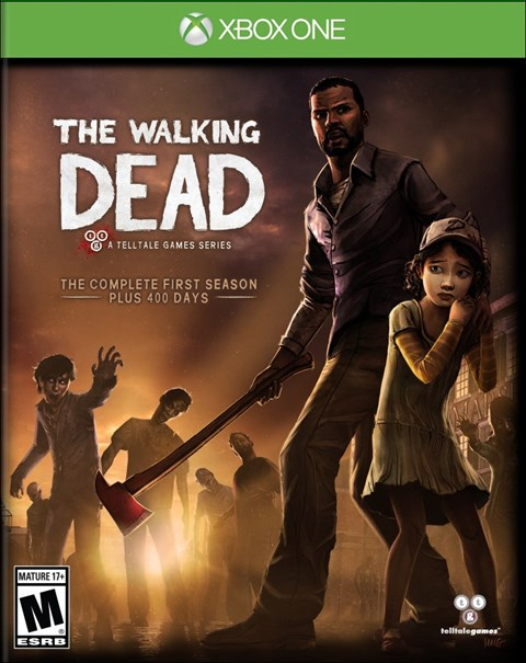 The Walking Dead Season OneXbox One Box Art