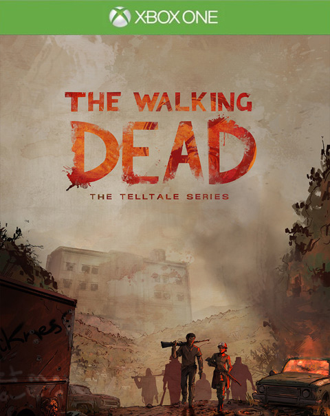 The Walking Dead Season 3 Xbox One Box Art