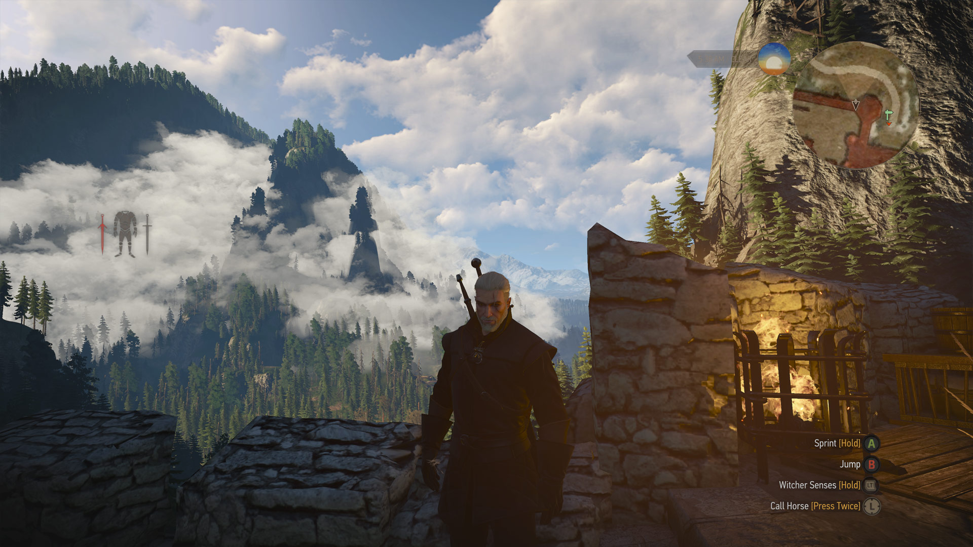 The Witcher 3: Wild Hunt supersampled