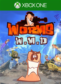 Worms WMD Xbox One Box Art
