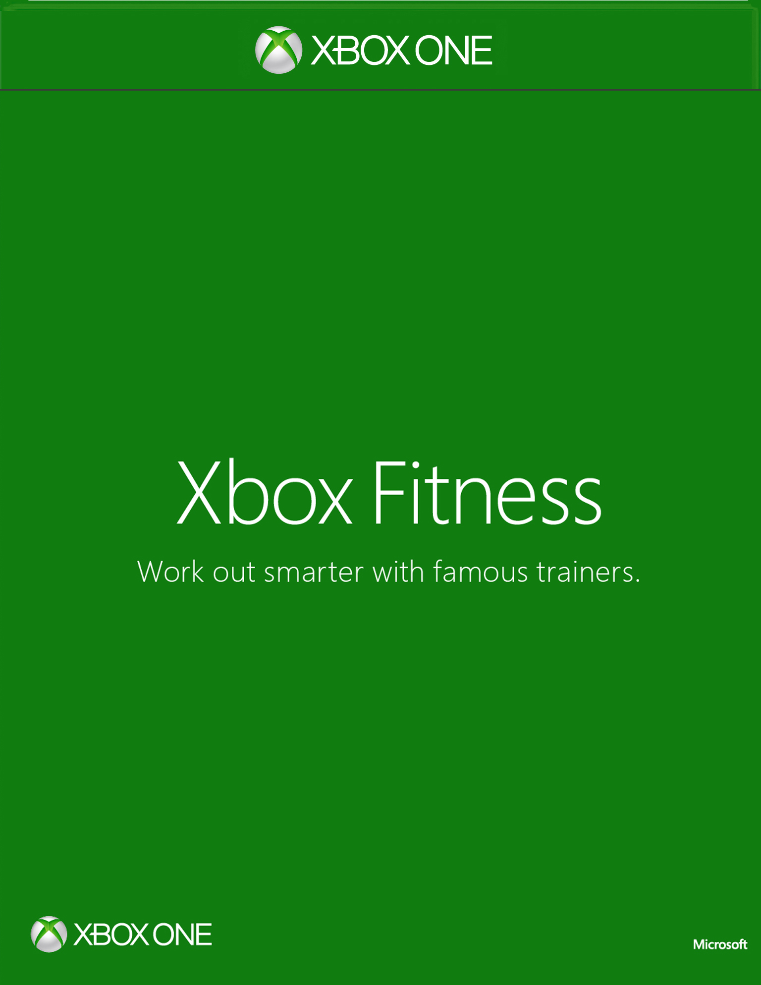 Xbox Fitness Box Art
