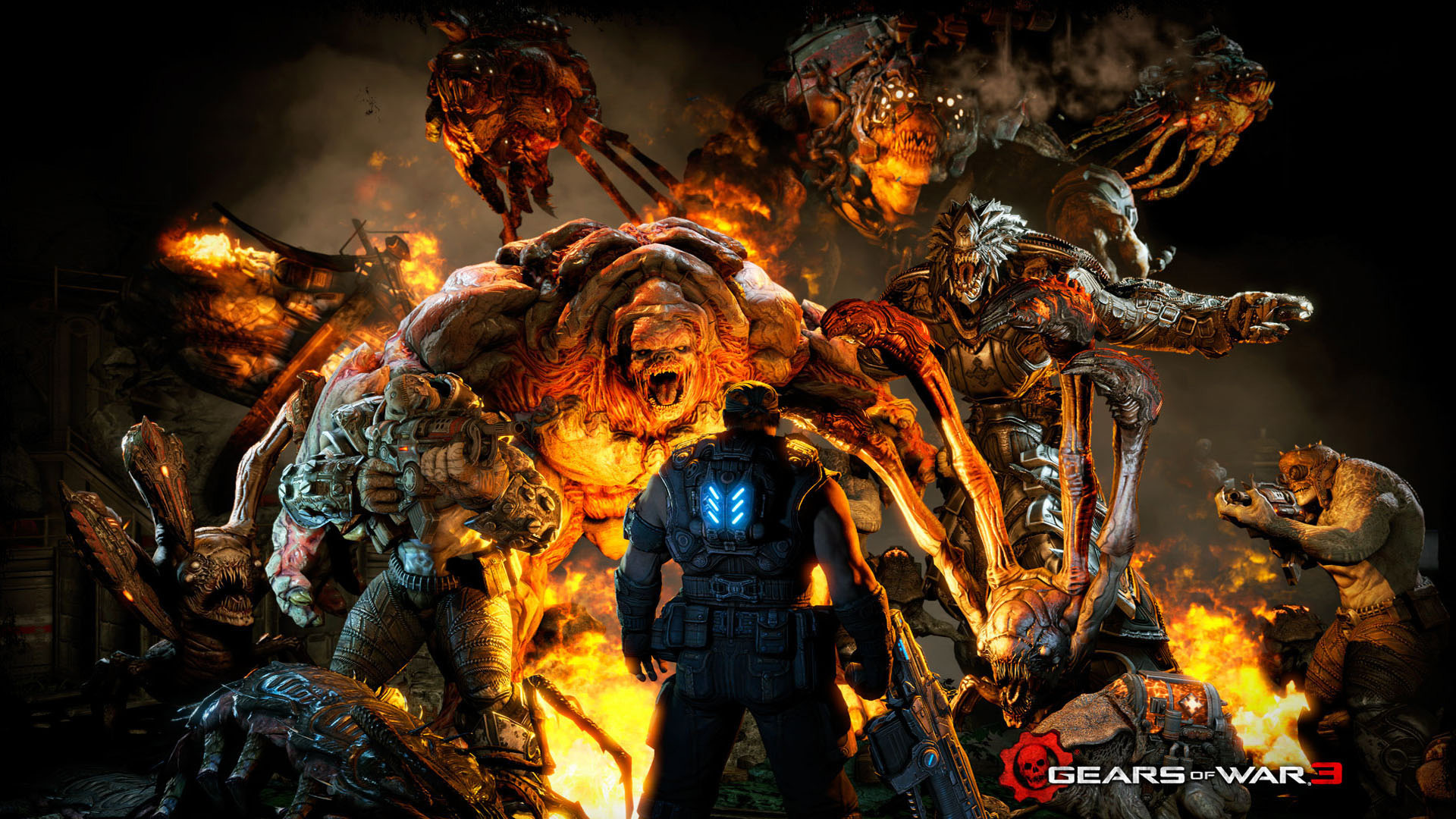 Gears of War 3 Wallpaper Xbox One