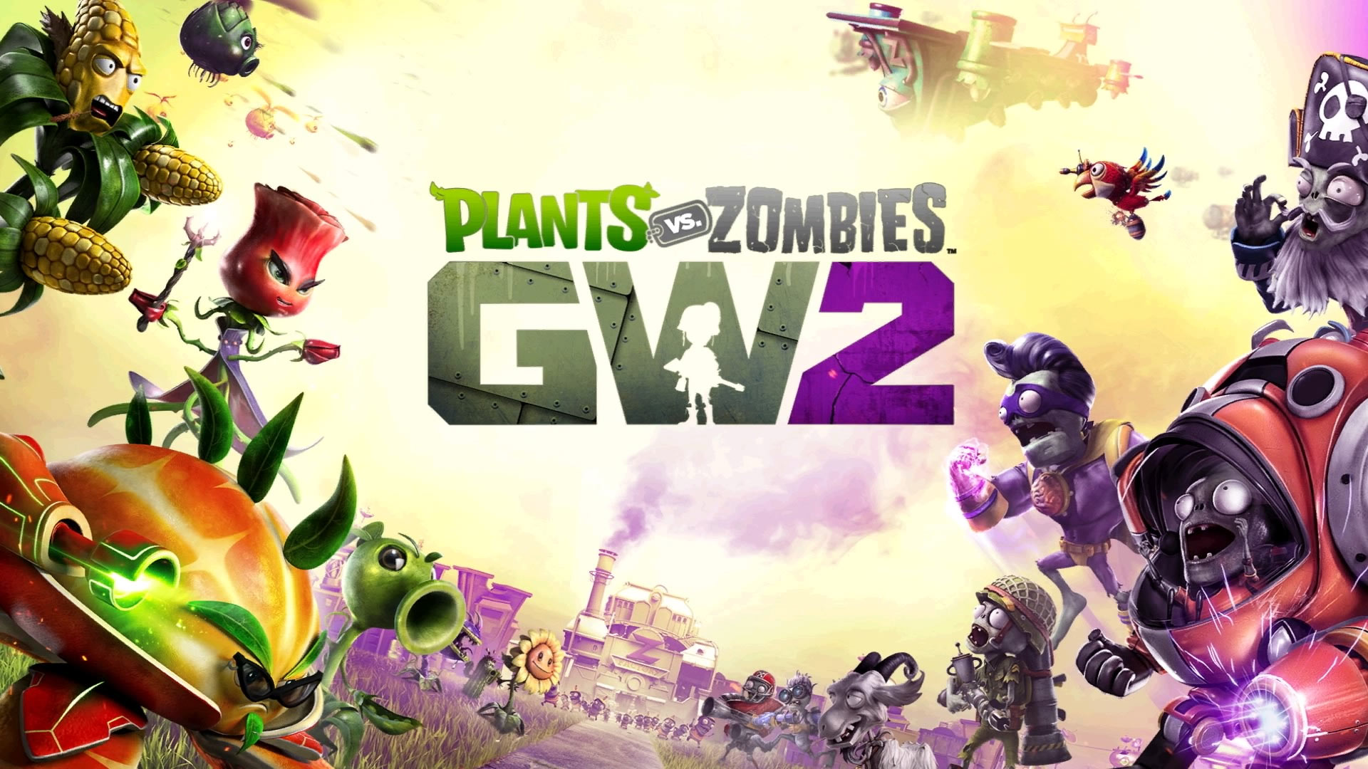 Plants vs Zombies: Garden Warfare 2 Wallpaper