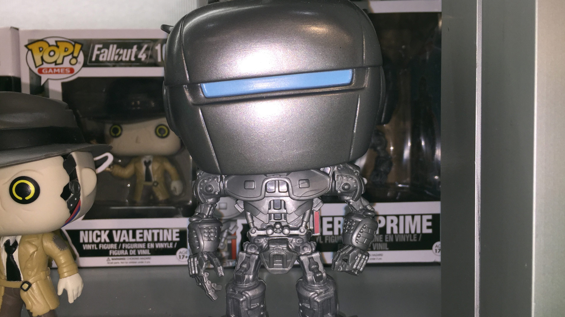 Funko Pop Fallout 4 Liberty Prime #167 Vinyl Figure at Toy Fair 2017