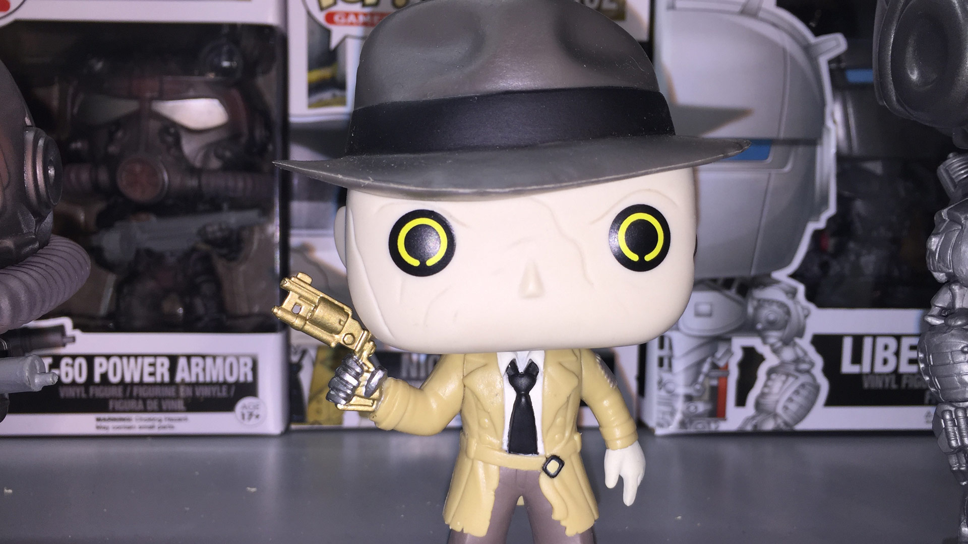 Funko Pop Fallout 4 Nick Valentine #162 Vinyl Figure at Toy Fair 2017