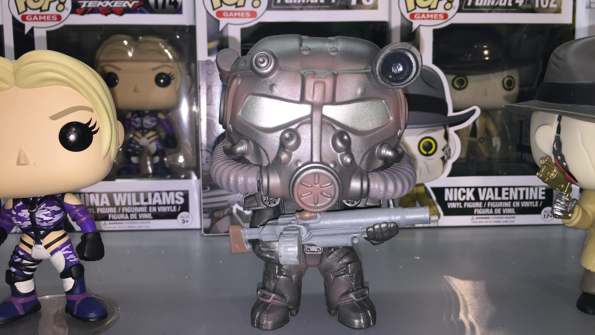 Funko Pop Fallout 4 with T-60 Power Armor #78 Vinyl Figure at Toy Fair 2017
